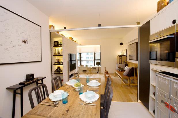 Biết kết hợp hài hòa giữa các phòng để thiết kế nhà nhỏ một cách thông minh