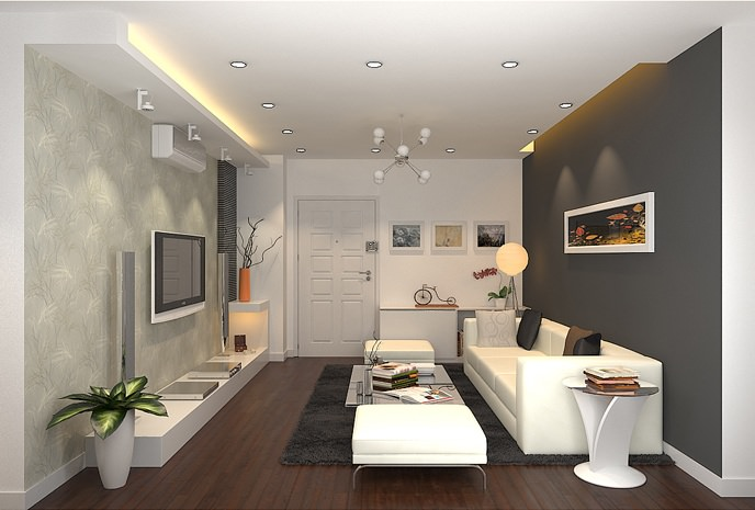 Lựa chọn màu sắc và ánh sáng phù hợp để thiết kế nhà có diện tích nhỏ