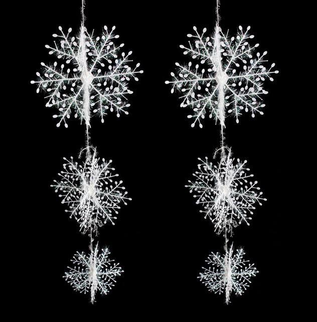 Bông tuyết trắng trang trí Noel