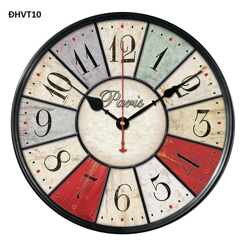 Đồng hồ treo tường đẹp – độc -lạ cổ điển vintage 10
