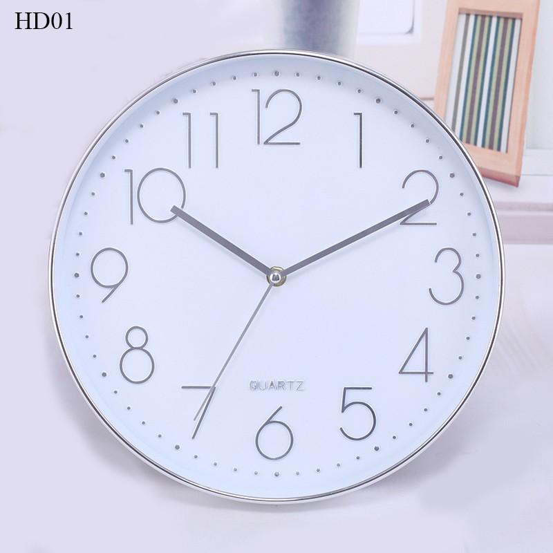 Đồng hồ treo tường hiện đại đơn giản đẹp