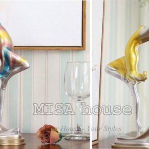 Tượng cô gái múa nghệ thuật - đồ trang trí bàn làm việc trang trí tủ kệ đẹp