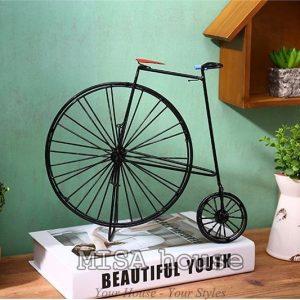 Mô hình xe đạp cách điệu trang trí - đồ trang trí phong cách vintage độc đáo