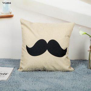 Vỏ gối sofa trang trí ghế sofa phòng khách râu cách điệu