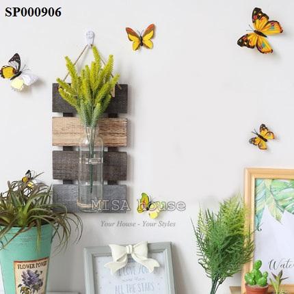 Bảng gỗ thủy tinh vintage 4 mùa xuân hạ thu đông – treo tường trang trí nhà, cửa hàng, quán cafe, spa đẹp độc lạ