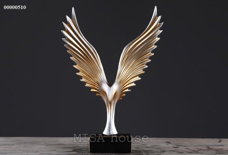 Đại bàng lửa vàng cao cấp trang trí tủ kệ đẹp sang trọng -quà tặng tân gia đẹp ý nghĩa