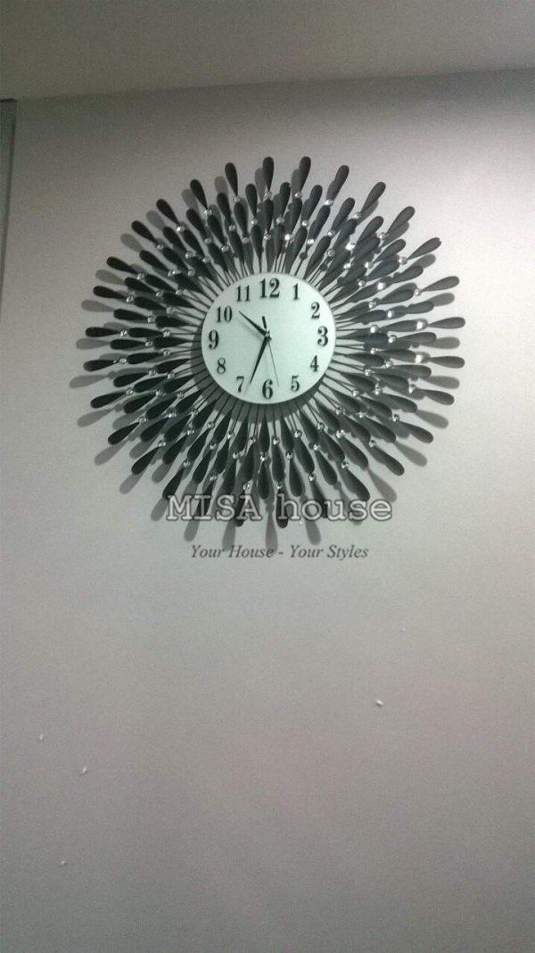 Hình khách review đồng hồ giọt nước trang trí decor quà tặng tân gia nhà mới ý nghĩa