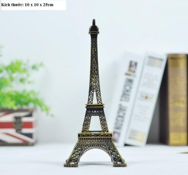 Tháp eiffel – Paris phong cách vintage trang trí cao 25cm