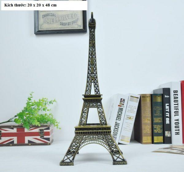 Tháp eiffel – Paris phong cách vintage trang trí cao 48cm