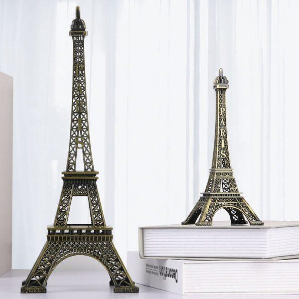 Tháp eiffel – Paris phong cách vintage trang trí cao 48cm và 18cm