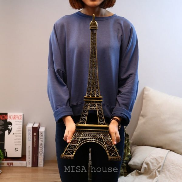 Tháp eiffel – Paris phong cách vintage trang trí cao 62cm