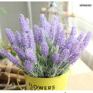 Hoa lavender giống thật siêu đẹp trang trí decor phòng nhẹ nhàng phong cách hàn quốc đạo cụ chụp ảnh cắm hoa