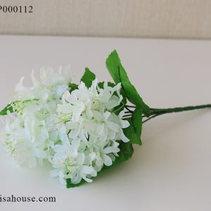 Hoa bèo tây màu trắng - hoa lục bình trang trí hoa giả đẹp