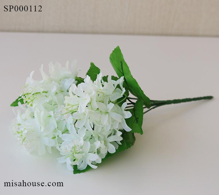 Hoa bèo tây màu trắng – hoa lục bình trang trí hoa giả đẹp