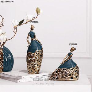 Chi tiết sản phẩmtượng trang trí CÔ GÁI VŨ CÔNG MÚA đẹp độc lạ dùng để decor nhà đẹp – quà tặng tân gia :