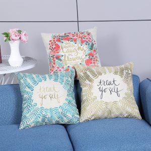 Áo gối handmade - Vỏ gối tựa lưng sofa,văn phòng style độc đáo