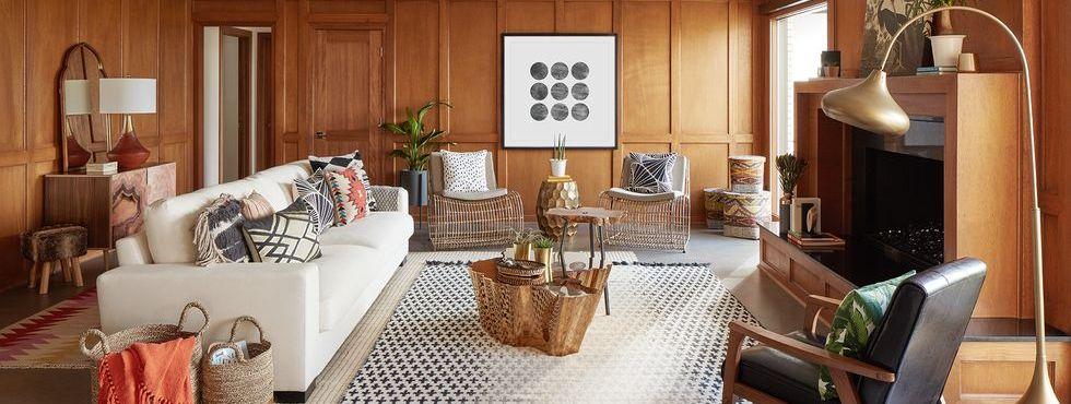 Đây là cách để biến một phòng khách hiện đại trông không hoàn toàn lỗi thời
