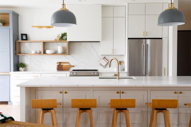 Tham quan Nhà bếp và Phòng khách của Trang trại Hiện đại