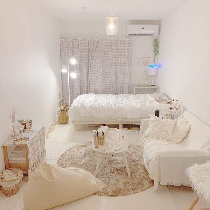 Mẫu thiết kế phòng ngủ màu trắng hiện đại